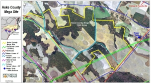 Utilities Map - Hoke County Industrial Site